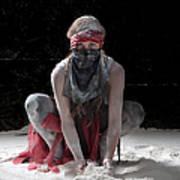 Dancing In Flour Series Art Print
