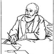 Daniel De Leon (1852-1914) Art Print