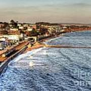 Dawlish Sea Wall Art Print