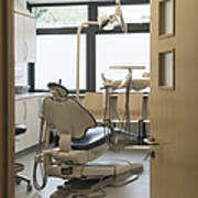 Dentist Chair Art Print