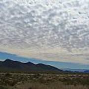Desert Clouds Art Print