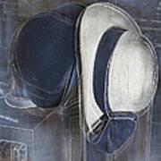 Deux Chapeaux Art Print