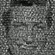 Dick Van Dyke Mosaic Art Print