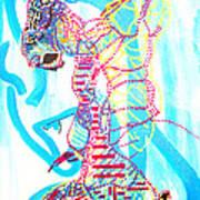 Dinka Angel Bride - South Sudan Art Print