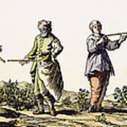 Divining Rod, 17th Century Art Print