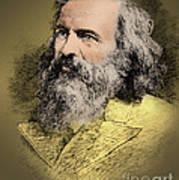Dmitri Mendeleev, Russian Chemist Art Print