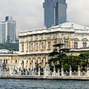 Dolmabahce Palace In Istanbul Art Print