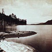 Donner Lake - California - C 1865 Art Print
