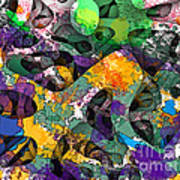 Dont Fall On The Road 3d Abstract I Art Print