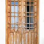 Doors In Greece Art Print