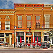 Downtown Perrysburg Art Print
