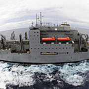Dry Cargo And Ammunition Ship Usns Art Print
