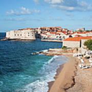 Dubrovnik Scenery Art Print