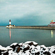Duluth Harbor Art Print