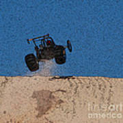 Dune Buggy Jump Art Print