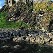 Dunluce Castle, Co Antrim, Ireland Art Print
