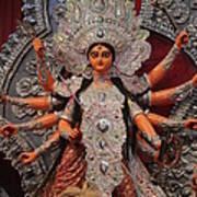 Durga Goddess 2012 Art Print by Rajan Advani