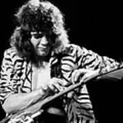 Eddie Van Halen 1984 Art Print