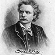 Edvard Grieg (1843-1907) Art Print
