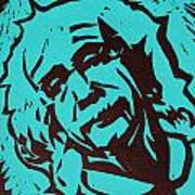 Einstein 2 Print by William Cauthern