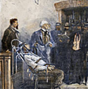 Electrocution, 1890 Art Print