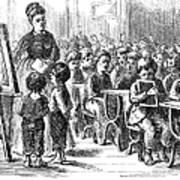 Elementary School, 1873 Art Print