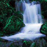 Emerald Falls Art Print