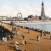 England: Blackpool, C1900 Art Print