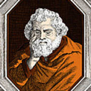 Euclid, Ancient Greek Mathematician Art Print