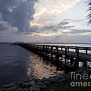 Evening On The Indian River Lagoon Art Print