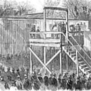 Execution Of Henry Wirz Art Print