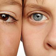 Eye Colour Art Print