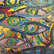 Eyes In Disguise Art Print