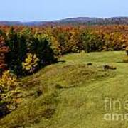 Fall Color Randolph County West Virginia Art Print