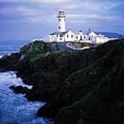 Fanad Lighthouse, Fanad Head, Co Art Print