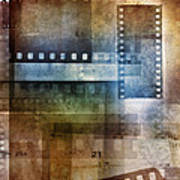 Film Negatives Art Print