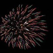 Fireworks Fun 3 Art Print
