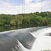 Flatrock Dam Art Print