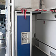 Food Compartment On An Airplane Print by Jaak Nilson