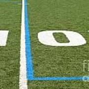 Football Field Ten Art Print