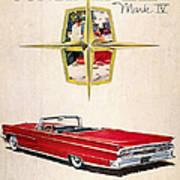 Ford Avertisement, 1959 Art Print