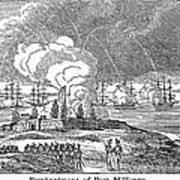 Fort Mchenry, 1814 Art Print