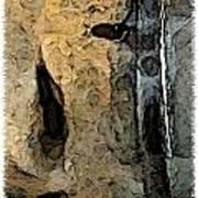 Fossilties Art Print