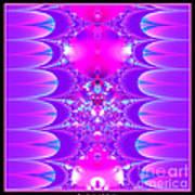 Fractal 16 Purple Passion Art Print