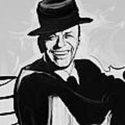 Frank In Black And White Art Print