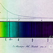 Fraunhofer Lines Art Print by Science Source