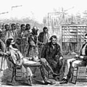 Freedmens Bureau, 1866 Art Print by Granger
