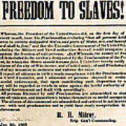 Freedom To Slaves Art Print