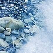 Freezing River Art Print by Jeremy Walker
