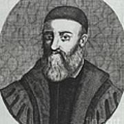 Gabriele Falloppio, Italian Anatomist Art Print by Science Source